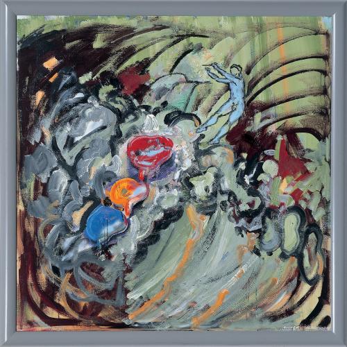 Gischtdirigent 2004/05 © Attersee